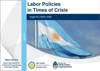 Labor Policies  in Times of Crisis