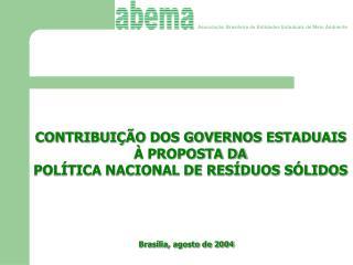 Associação Brasileira de Entidades Estaduais de Meio Ambiente