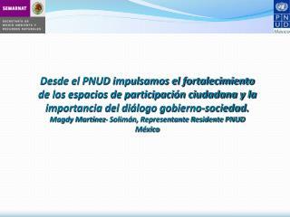 Capitalizar experiencia de trece años (1995-2008) Madurez de la participación ciudadana