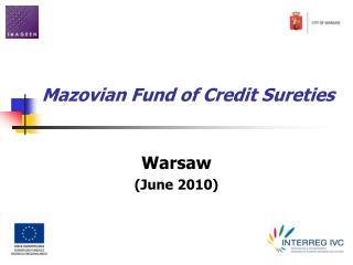 Mazovian Fund of Credit Sureties