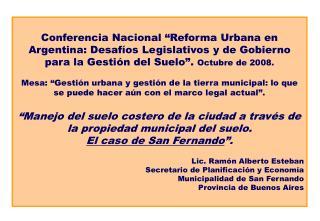 Algunos datos de San Fernando .