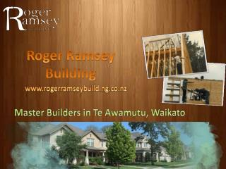 Roger Ramsey Building - Waikato Master Builders