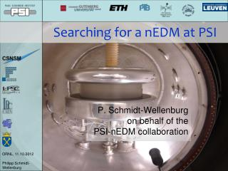 Searching for a nEDM at PSI