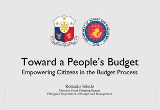 Toward a People's Budget Empowering Citizens in the Budget Process