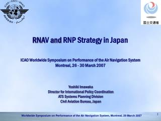 RNA V  and  RNP Strategy in Japan