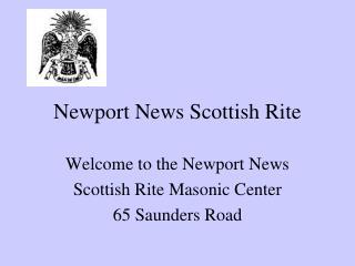 Newport News Scottish Rite