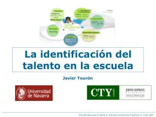 La identificación del talento en la escuela