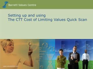 Setting up and using The CTT Cost of Limiting Values Quick Scan