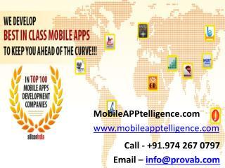 Hiring Mobile Application Development Company