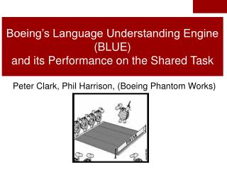 Boeing's Language Understanding Engine (BLUE) and its Performance on the Shared Task