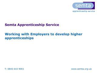 Semta Apprenticeship Service