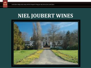 NIEL JOUBERT WINES