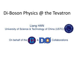 Di-Boson Physics @ the Tevatron