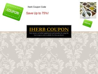 Use The Best Iherb Coupon