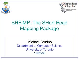 SHRiMP: The SHort Read Mapping Package