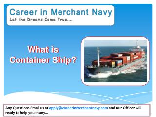 how to join container ship in merchant navy