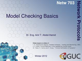Model Checking Basics