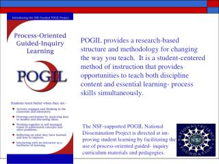 A Research-Based Cognitive Model Supporting POGIL