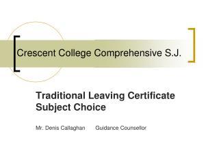Crescent College Comprehensive S.J.