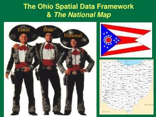 The Ohio Spatial Data Framework &  The National Map