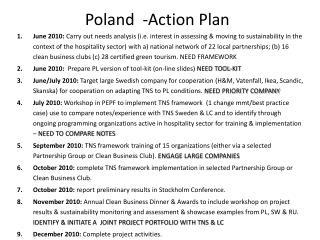 Poland  -Action Plan