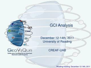 GCI Analysis