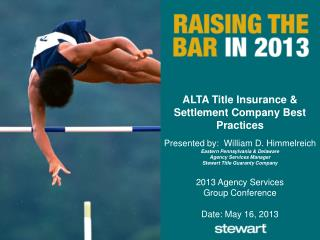 ALTA Title Insurance & Settlement Company Best Practices