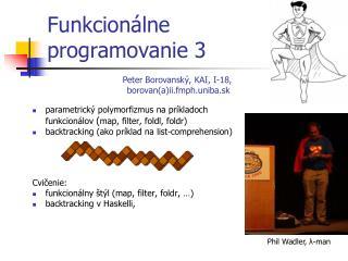 Funkcion álne  programovanie  3