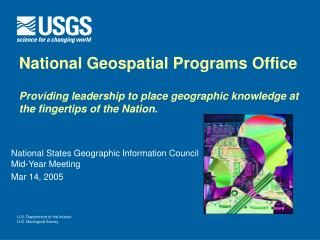 National States Geographic Information Council Mid-Year Meeting Mar 14, 2005