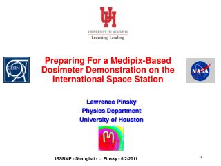 Preparing For a Medipix-Based Dosimeter Demonstration on the International Space Station