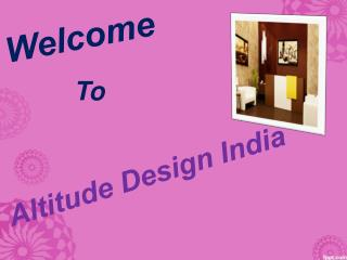 Most Beautiful Interior Design Service By Altitude Design