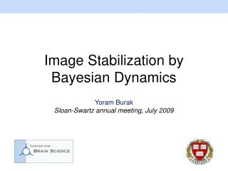 Image Stabilization by Bayesian Dynamics