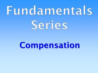 Fundamentals Series