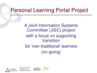 Personal Learning Portal Project