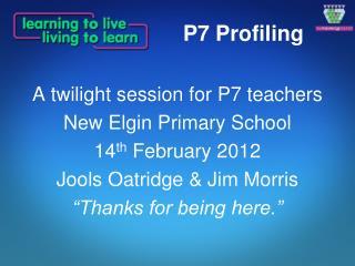 P7 Profiling