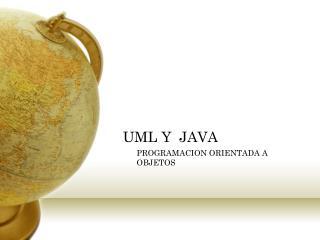 UML Y  JAVA