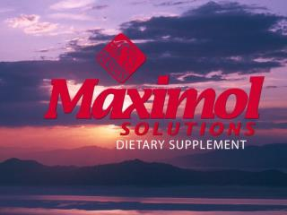 Maximol Solutions  is a nutrient-rich liquid formula that features a unique blend of essential minerals and vitamins, as