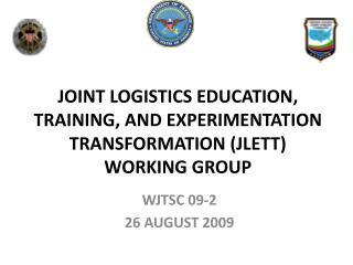 WJTSC 09-2 26 AUGUST 2009