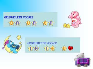 GRUPURILE DE VOCALE