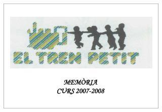 MEMÒRIA CURS 2007-2008