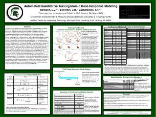 Automated Quantitative Toxicogenomic Dose-Response Modeling
