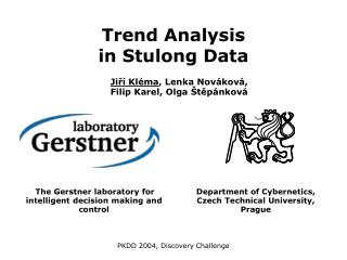 Trend Analysis  in Stulong Data