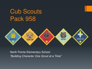 Cub Scouts Pack 958