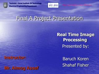 Final A Project Presentation
