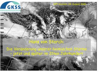 Hans von Storch: