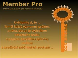 Member Pro