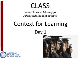 CLASS Comprehensive Literacy for  Adolescent Student Success