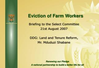Eviction of Farm Workers