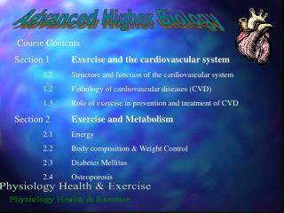 Advanced Higher Biology