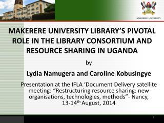 Lydia Namugera and  Caroline Kobusingye
